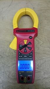 Amprobe Acdc 3400 Ind Ac dc Cat Iv Industrial True rms Clamp Meter Calibrated