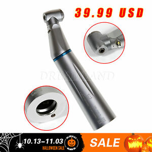 Inner Water Dental E generator Led Press Button Contra Angle Handpiece E type Yh