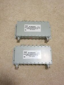 2 Ge Mds Radio 20 2822a02 902 927 Mhz Bandpass Filter Used