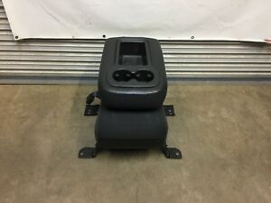 2007 2014 Chevrolet Tahoe Yukon Suburban Silverado Ebony Cloth Center Jump Seat