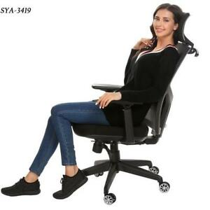 High Back Desk Task Office Chair With Armrest adjustable Ergonomic Mesh Modern