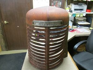 Case Sc Tractor Front Grill With Case Logo Part 2553aa