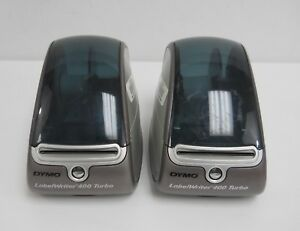 Lot Of 2 Dymo Labelwriter 400 Turbo Thermal Label Printer