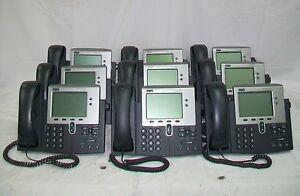 Lot Of 9 Cisco Ip Phone 7941 cp 7941g