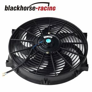 14 Electric Radiator Engine Cooling Fan Mounting Zip Tie Kits Black 14
