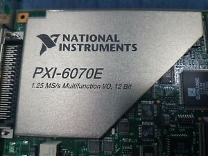National Instruments Pxi 6070e Ni Daq Multifunctioncard Tested Fully Working