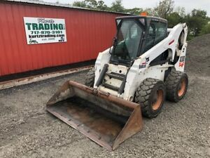 2002 Bobcat A300 Skid Steer Loader With Cab