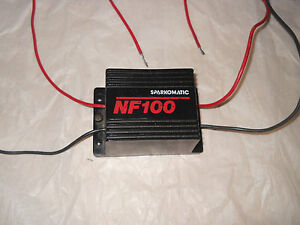 Sparkomatic Nf 100 Car Stereo Noise Filter Used