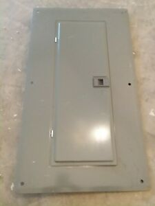 Used Square D Load Center Front Panel Breaker Box Homc24uc