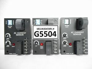 Ssac Ecs41ac Ac Current Sensor Reseller Lot Of 3 New