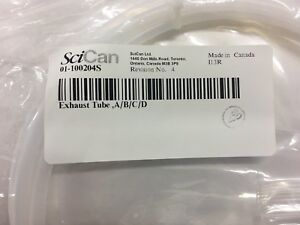 Scican Statim 2000 And 5000 Exhaust Tube Oem 01 100204s