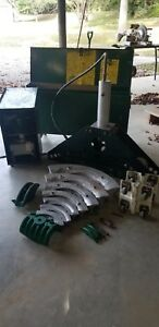 Greenlee 885 Bender With Hydraulic Pump And Storage Chest