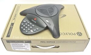 Polycom Soundstation 2 Basic Conference Phone Station 2200 15100 001 New