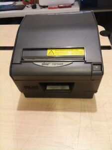 Star Tsp800ii Thermal Usb Printer W power Supply And Usb Cable Tested Warranty