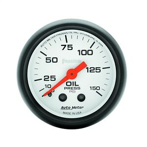 Autometer 5723 Phantom Mechanical Oil Pressure Gauge
