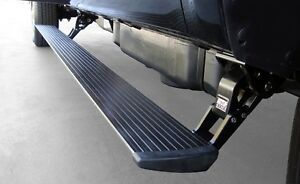 Amp Research Powerstep Electric Running Boards 2015 2016 Chevrolet Gmc 2500 3500