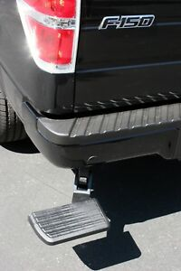 Amp Research Bedstep Retractable Bumper Step For 2006 2014 Ford F 150 Raptor