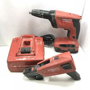 Hilti Sd4500 a18 Cordless Drywall Driver Screwdriver W Smd50 Battery