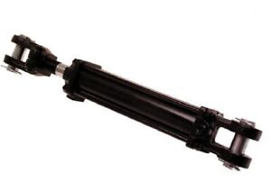 2 5 X 18 Hydraulic Cylinder W 1 1 4 Rod 28 25 Retracted 46 25 Extended
