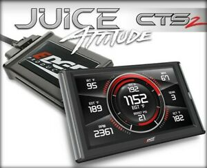 Edge Products 21500 Juice W Attitude Cts2 Programmer For 01 04 Duramax 6 6