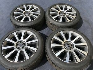 New Range Rover Autobiography Wheels Tires Oem Genuine Rare Best Authentic