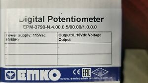 Emko Digital Potentiometer Epm 3790 n 4 00 0 5 00 00 1 0 0 0