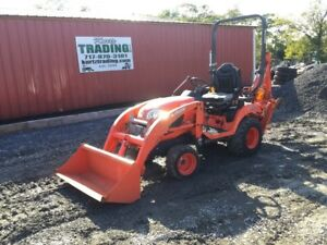 2013 Kubota Bx25d 4x4 Hydro Diesel Compact Tractor Loader Backhoe