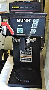 Bunn Cdbcf35 Automatic Coffee Maker Brewer Dual Voltage With Hot Water Faucet