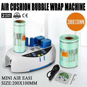 Air Easi Cushion Bubble Wrap Machine 2800pc Package Bag Tabletop Cost Effective