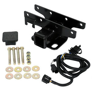 For 07 18 Jeep Wrangler Jk Jku Trailer Tow Hitch Receiver Wiring Harness Cover