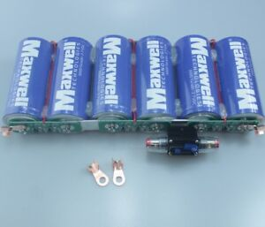 Suitable For Maxwell 2 7v3000f pc 16v500f group Farads Super Capacitor