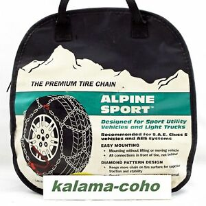 Alpine Sport Lt Snow Tire Chains 2323 P245 70r17 275 55r17 P235 75r17 235 65r18