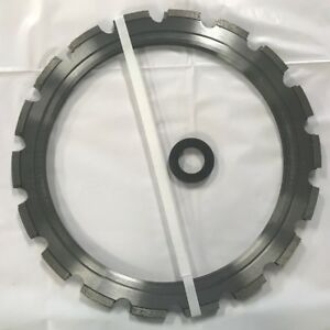 New Pack Of 3 Ring Saw Blades 14 1 2 Od 11 1 4 Id With 1 Ring Roller
