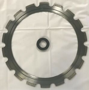 New Ring Saw Blade 14 1 2 Od 11 1 4 Id With Ring Roller