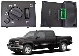 Replacement Headlight Dome Light Dimmer Switch For 2003 2007 Gm Trucks New Usa