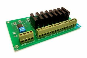 8 Channel I2c Solid State Relay Module For Arduino Raspberry Pi And All Mic Ssr