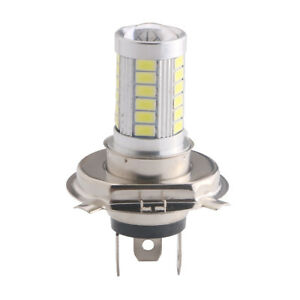 H4 33 Led Smd 5630 Led Hi Lo White Auto Car Fog Driving Light Headlight Lamp 12v
