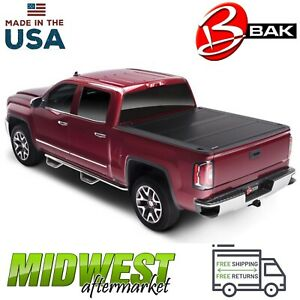 Bakflip Fibermax Truck Bed Cover Fits 2019 Ford Ranger 6 Bed 1126333