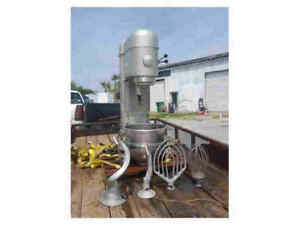Hobart 80qt Mixer W Bowl Attachments