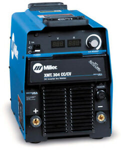 Miller Electric Multiprocess Welder Xmt r 304 Series 208 To 460 Vac