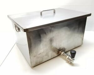 20 Stainless Steel Tank Water Transfer Printing Hydrographics Restaurant Misc