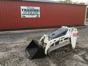 2015 Bobcat Mt55 Walk Behind Skid Steer Loader