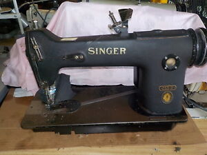Industrial Sewing Machine Singer 253 2 Chain Stitch light Leather