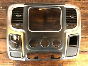 2013 2014 2015 2016 Dodge Ram 1500 2500 3500 Radio Surround Dash Bezel Trim