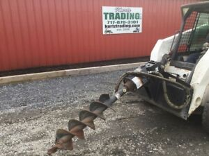 2010 Bobcat 30c Post Hole Digger Attachment For Skid Steer Loaders