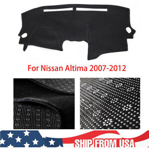 Black Nonslip Dashmat For Nissan Altima 2007 2008 2009 2010 Dashboard Cover Pad