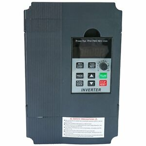 2 2kw 3ph Single Phase Motor Speed Control Variable Frequency Drive Inverter Us