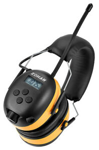 Digital Am fm mp3 Radio Earmuff Zohan Type a Ear Protection Perfect For Mowing