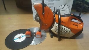 Stihl Ts420 Cut Off Saw With 14 Blade Guard Water Kit And Extras