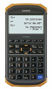 Casio Japan Fx fd10 Pro Civil Engineering Surveying Calculator Programmable Cal